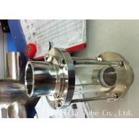 Buy cheap 316L 304 Stainless Steel Sanitary Fittings Sight Glass For Chemical Industries from wholesalers
