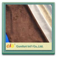Buy cheap 100% Polyester Embroidery Faux Suede Fabric , Sofa Upholstery Fabric from wholesalers