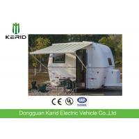 Buy cheap Easy Towing Camper Van Trailer , Compact Lightweight Rv Trailers With Awning from wholesalers