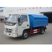 Buy cheap Forland 3m3 Rubbish Removal Truck , Hydraulic Arm Waste Garbage Truck product