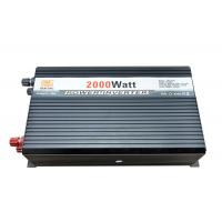 Buy cheap 2000W Solar Mobile Sine Inverters Inverter solar power system DC 12V to AC 220V From lead-acid cell 150Ah CE ROHS from wholesalers