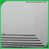 Buy cheap 2015 hot sale solid grey book binding board from wholesalers
