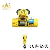 Buy cheap Mobile 0.25 - 20 Ton CD Electric Wire Rope Hoist 220 V - 440 V 3 Phase from wholesalers