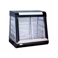 Buy cheap Electric Heating Cake Display Cabinet Counter Top 3-Layers Glass Food Warmer Showcase from wholesalers
