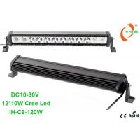 Buy cheap Single Row 120W Led Light Bar Combo Beam Truck Work Light IP67 Waterproof Cree Light Bar from wholesalers
