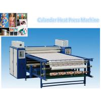 Buy cheap Sublimation Digital Heat Press Machine 200m/H Speed Oil Heating Type CE certification from wholesalers