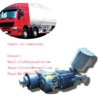 Buy cheap 8cbm factory directly supply 3 axles cement silo compressor for bulk cement truck from wholesalers