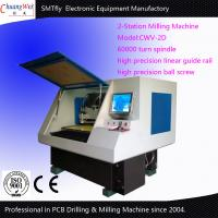 Buy cheap 2-Station Cnc Drilling And Milling Machine Pcb Routing Machine from wholesalers