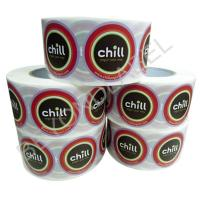 Buy cheap Custom Printed Spice Bottle Labels Food Grade Adhesive Paper Label On Roll from wholesalers