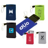Buy cheap Novelty Neoprene Cell Phone Sleeve With Clip , Portable Electronics Case from wholesalers