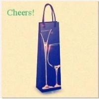 Buy cheap decent paper wine bag from wholesalers