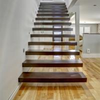 Buy cheap floating stair / Glass Staircase / Build Floating Staircase product