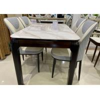 Buy cheap Granite Surface Oak Table And Four Chairs , Oak Dining Table Set For Small Apartment from wholesalers