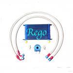 Aluminium Radiator Transmission Oil Cooler Kit , 13 Rows External Transmission Oil Cooler