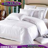 Buy cheap OEM 3cm Stripes Design 250TC-330TC 100% Cotton Hotel Bedding Sets from wholesalers