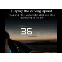 Buy cheap 12vdc / 400mA OBD2 Heads Up Car Display A500 HUD 3.5 Inch Windshield Project System from wholesalers