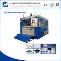 Buy cheap 5-15 Mold / Min Plastic Vacuum Forming Machine For Food Container from wholesalers
