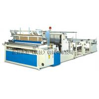 Buy cheap PLC control perforating roll automatic toilet paper rewinding machine from wholesalers