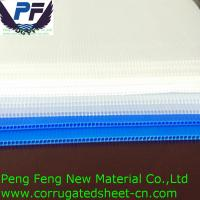 Buy cheap 4X8 white/blue/green/yellow/red color polypropylene corflute plastic coroplast sign for packing and printing industry from wholesalers