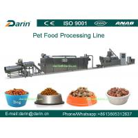 Buy cheap Professional automatic dog Pet Food Extruder production line with CE from wholesalers