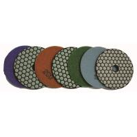 China Dry Diamond Polishing Pads Granite   , Concrete  Quartz Stone Diamond Sanding Discs on sale