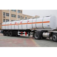 Buy cheap Customized 50000 Liters Diesel Fuel Tanker Trailer | Titan Vehicle from wholesalers