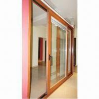 Buy cheap Thermal Break Aluminum Lift-sliding Door with 2.0mm Profile Thickness and 180mm for 3 Tracks from wholesalers