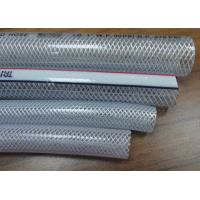 Buy cheap Flexible PVC Braided Hose Food Grade Clear Drinking Water Pipe SGS Standard from wholesalers