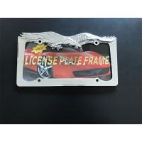 Buy cheap Bald Eagle Car License Plate Frame Long Lifetime And Beautiful Design from wholesalers