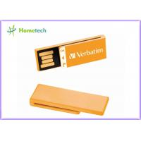 Buy cheap Orange Super Mini USB Memory Plastic Silk - Screen / Full Logo Print For School Gift from wholesalers
