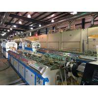 Buy cheap 450kg/H Single Screw Plastic Extrusion Machine PVC WPC Board / Panel Production Line from wholesalers