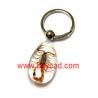 Buy cheap real scorpion in resin amber keychains,insect keyring,bug keyring,insect keychains from wholesalers