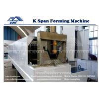 Buy cheap 0.8-1.5MM Thickness PPGI,GI,Color Steel K-Span Roll Former Machine from wholesalers