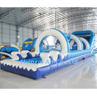 Buy cheap Large Pvc Water Game Inflatable Water Slide with Blower for Children and Adult from wholesalers