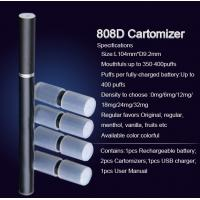 Buy cheap 808D Double Battery Kit Disposable E Cigarette Smoking Pipes 300 - 500 Puffs from wholesalers