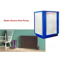 Buy cheap House cooling and heating 3 phase 380V R32 refrigerant water source heat pump 18kw from wholesalers
