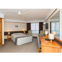 OEM Modern Hotel Bedroom Furniture , Mirrored Bedroom Furniture Sets