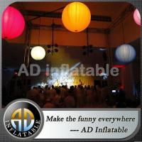 Buy cheap Color changing inflatable large helium balloon light from wholesalers