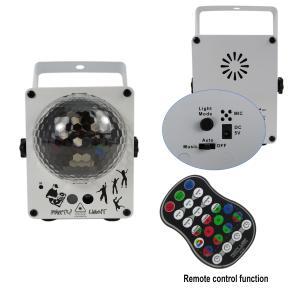 China Manual Party RGB 60Hz Led Disco Magic Light Ball led Laser Lights on sale