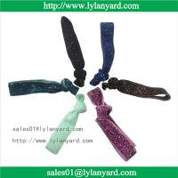 Buy cheap Wholesale Fashion Knotted Glitter Elastic Hair Tie and Headband from wholesalers