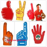 Buy cheap Customer Made Finger Match Fan EVA Foam Hand Finger Cheering Promotional Wewing Eva from wholesalers
