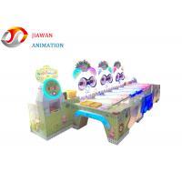 Bear Animal Rolling Fun Arcade Games Machines With Six Children'S Playground Stalls