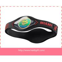 Buy cheap 3D Healthy Power Energy Silicone Bracelet from wholesalers