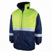 Buy cheap Work Winter Jacket, Strong Sewing, Made of Nylon Oxford from wholesalers