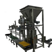 Buy cheap condiment powder 25kg 50kg top open bag packing machine from wholesalers