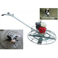 Buy cheap 4 Blade Gasoline Troweling Machine 46 Inch , Walk Behind Power Trowel from wholesalers