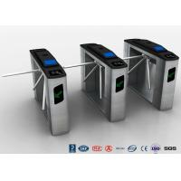 Buy cheap Tripod Turnstile Half Height Turnstile Entrance Gates Electric RFID Card Reader product
