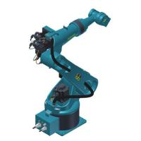 Buy cheap 1.1Kw Automatic Robotic Arm , Ground Mounted Installation Welding Industrial Robotic Arm product
