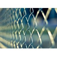 Buy cheap Galvanized, PVC Coating Chain Link Wire Mesh Fence Hurricane Fence from wholesalers