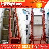 Buy cheap electric lift cylinder /stationary guide rail goods lift platform from wholesalers
